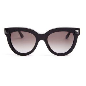 Valentino Rockstud Cat Eye Sunglasses